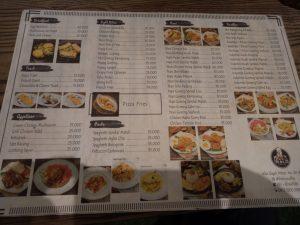 tempat nongkrong terbaru di Medan, Menu makanan di The L.CO Coffee