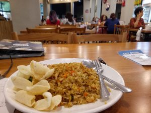 tempat nongkrong terbaru di Medan, Nasi goreng ikan teri Medan