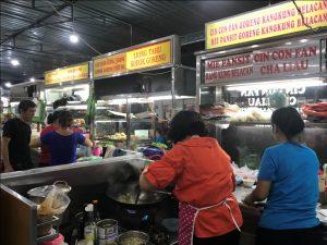 tempat makan enak di kota Medan | Stand makanan di foodcourt Yummy Asia Mega Mas