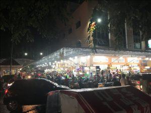 tempat makan enak di kota Medan | Tampak depan foodcourt Yummi Asia Mega Mas