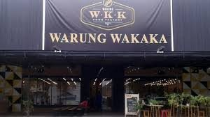 tempat nongkrong terbaru di Medan, Tampak depan Warung Wakaka Medan