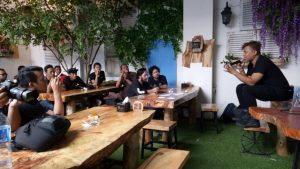 tempat makan enak di kota Medan | Workshop kelas pagi Anton Ismail di Kito Floral Cafe & Resto
