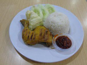 roti bakar di Jakarta, Ayam Goreng