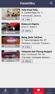 Cari Aja, aplikasi pencarian tempat sekitar, terdekat, terlengkap di Indonesia