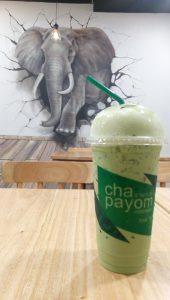 jajanan kekinian yang lagi hits, Green Tea Chapayom Bintaro Plaza