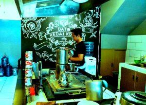 tempat ngopi murah di Jakarta, Suasana Kedai Kopi Dato