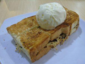 roti bakar di Jakarta, Roti Bakar Ice Cream Vanilla