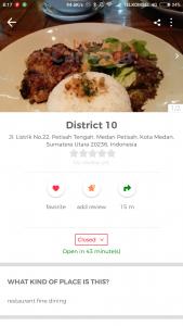 restoran romantis di Kota Medan
