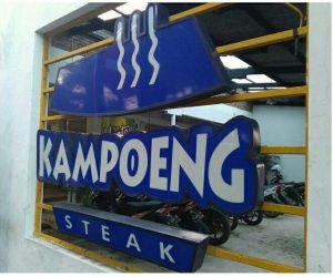 tempat nongkrong asik dan murah di Surabaya, Kampoeng Steak Bratang