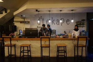 cafe unik di Surabaya | d'Tekape Coffee