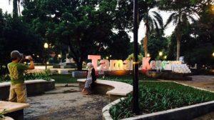 tempat nongkrong malam hari di Bogor, Taman Kencana