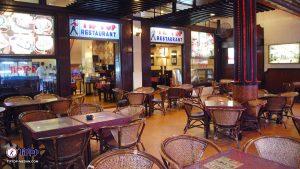 restoran romantis di Kota Medan, Bagian indoor Restoran Tip Top