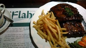 restoran romantis di Kota Medan, Baby Back Ribs di O'Flahertys Resto Medan