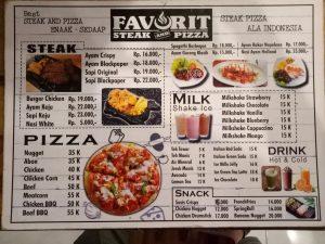 tempat makan steak murah di Medan, Favorit Steak and Pizza