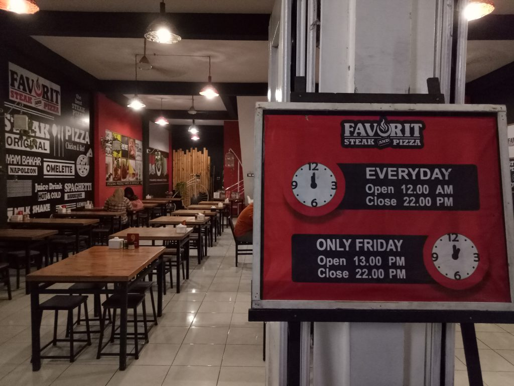 tempat makan steak murah di Medan, Favorit Steak and Pizza