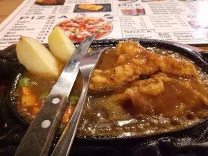 tempat makan steak murah di Medan, Steak ayam blackpepper