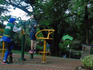 Taman Kota di Jakarta, Taman Fitnes Allianz Ecopark
