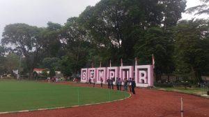 taman kota di Bogor, Jogging track di Lapangan Sempur