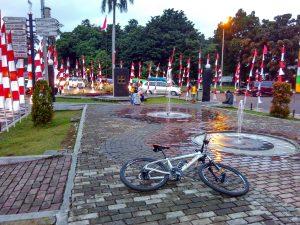 Air Mancur Bogor, tempat jalan-jalan sore di Bogor