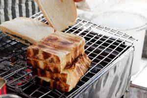 Roti Bakar Gang Kote, tempat makan roti panggang di Bandung