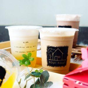 Kopi Kawi, es kopi susu enak di Jakarta