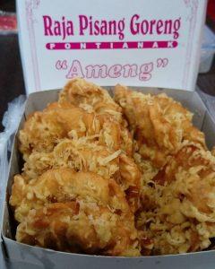 Pisang Goreng Kalimantan Ameng, pisang goreng enak di Jakarta