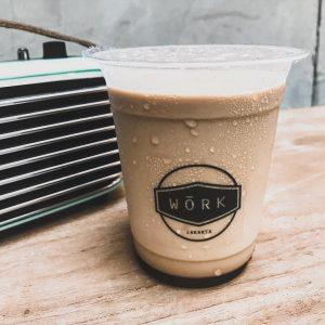 WORK Coffee & Friends, es kopi susu enak di Jakarta