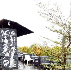 cafe romantis di Bogor, Rooftop di Two Stories