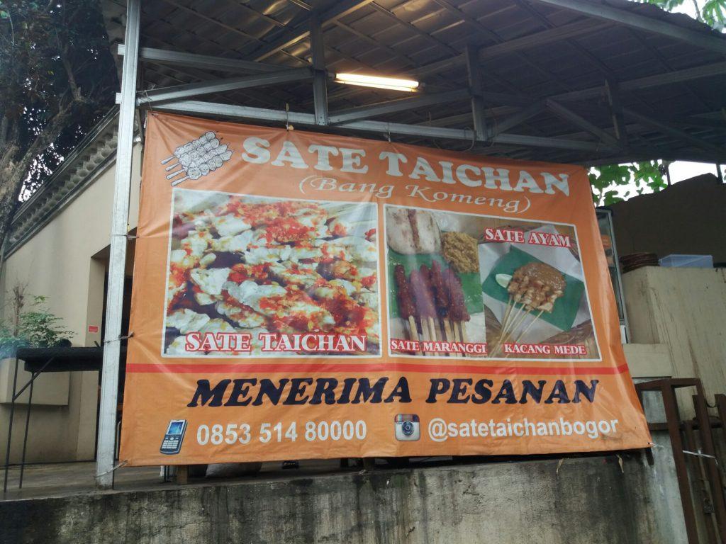 Sate Taichan Bang Komeng, sate taichan enak di Bogor, Anakkota.com