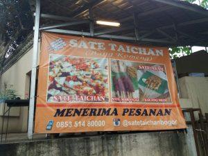 Sate Taichan Bang Komeng, sate taichan enak di Bogor