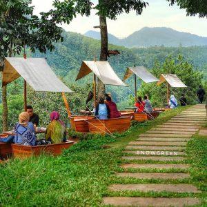 Café D'Pakar, tempat nongkrong outdoor murah di Bandung
