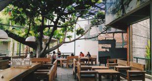 Kopi Selasar, tempat nongkrong outdoor murah di Bandung