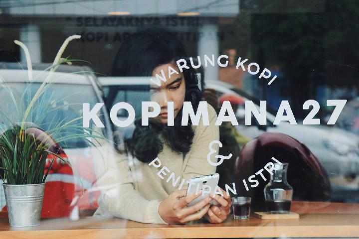 Kopimana 27, tempat ngopi terbaru di Jakarta