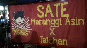 Maranggi Asin X Taichan, sate taichan enak di Bogor