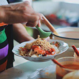 wisata kuliner di Glodok, Rujak Shanghai Encim