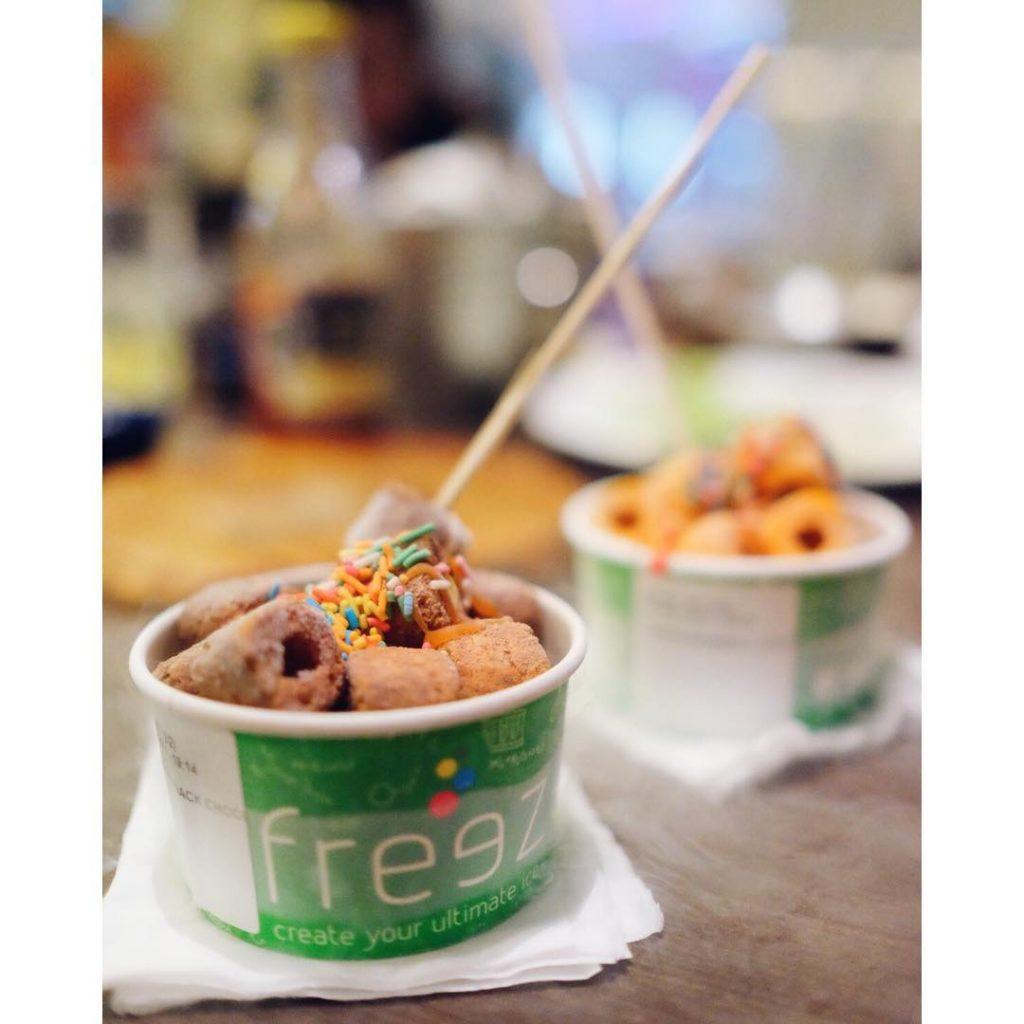 cafe gelato di Bogor, Serunya varian rasa Freeze, Anakkota