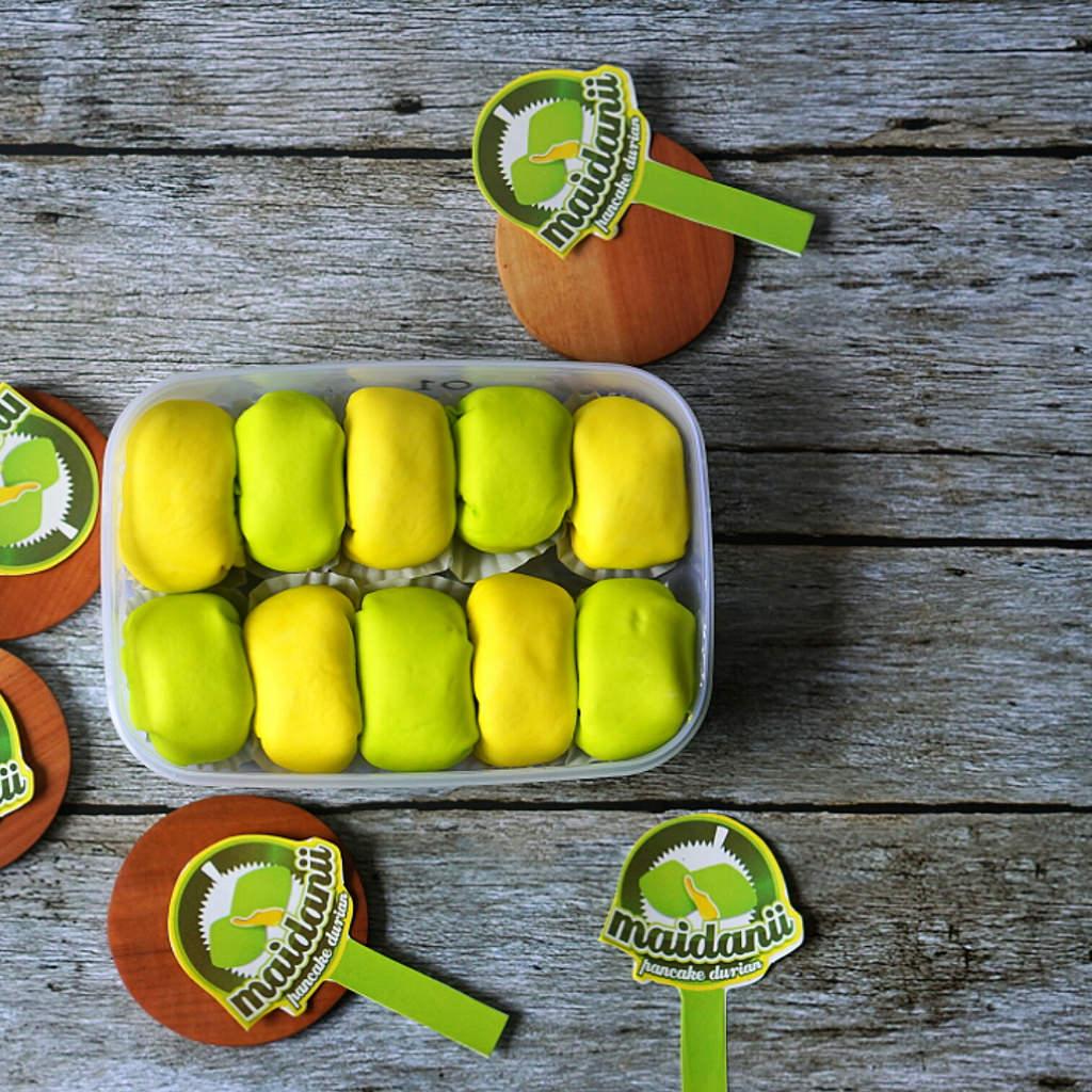 tempat makan durian enak di Medan, Maidanii Pancake Durian, Anakkota