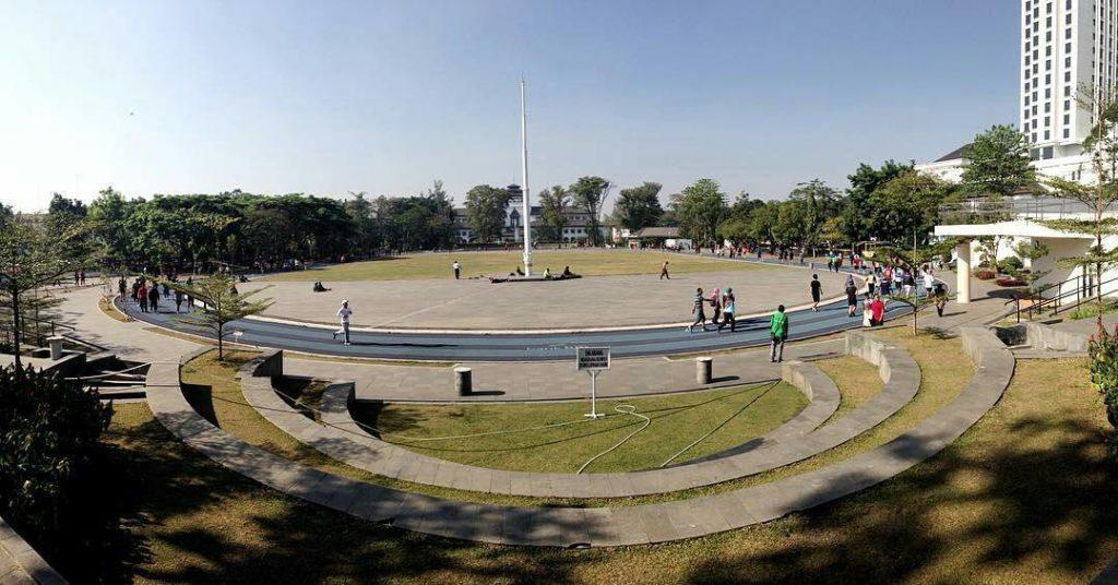 tahun baru di Bandung, Lapangan Gasibu, Anak Kota