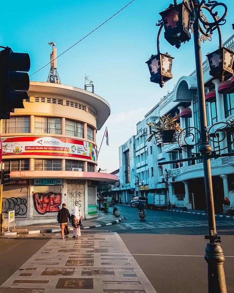 tahun baru di Bandung, Jalan Braga, Anak Kota