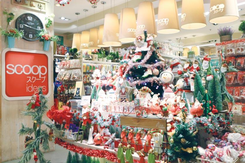 pernak pernik Natal, Scoop, Anak Kota