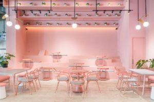 cafe serba pink di Jakarta, Ottoman's Coffee Sopo Del, Anakkota.com