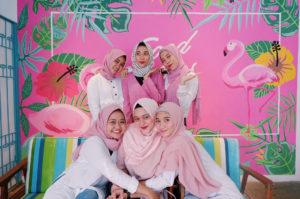 cafe serba pink di Jakarta, PiKNiK at Arif Inn, Anakkota.com