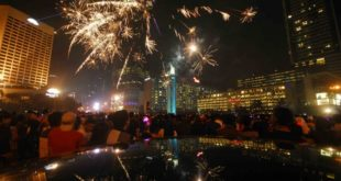 tahun baru di jakarta, kota terbaik merayakan tahun baru di indonesia, anakkota
