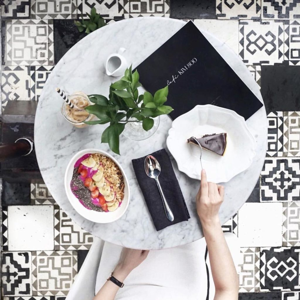 cafe instagramable di Bali, Menu Kim Soo Home, Anak Kota