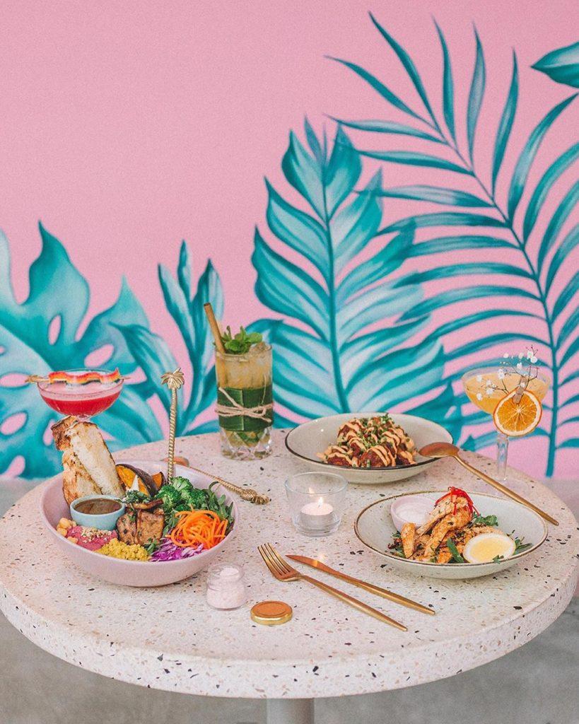 cafe instagramable di Bali, Menu Kynd Community, Anak Kota