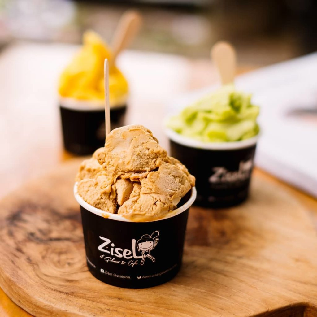 cafe gelato di Medan, Zisel Gelateria, Anak Kota