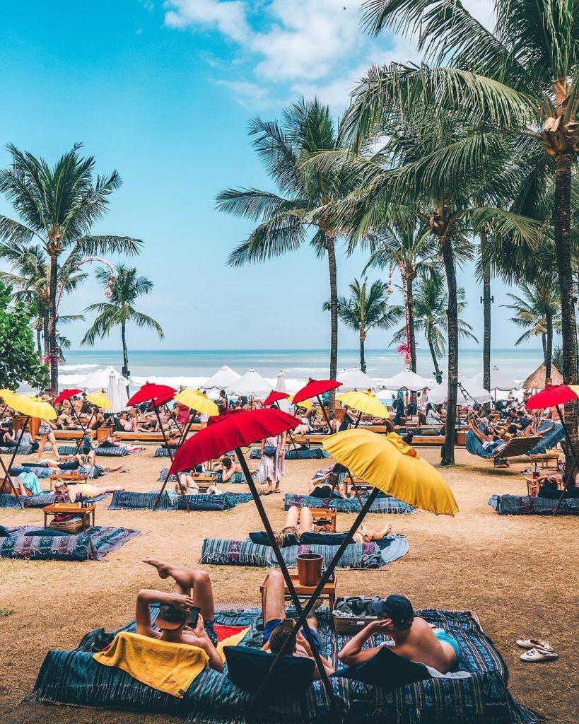 tempat nongkrong di Bali, Potato Head Beach Club Bali, Anak Kota