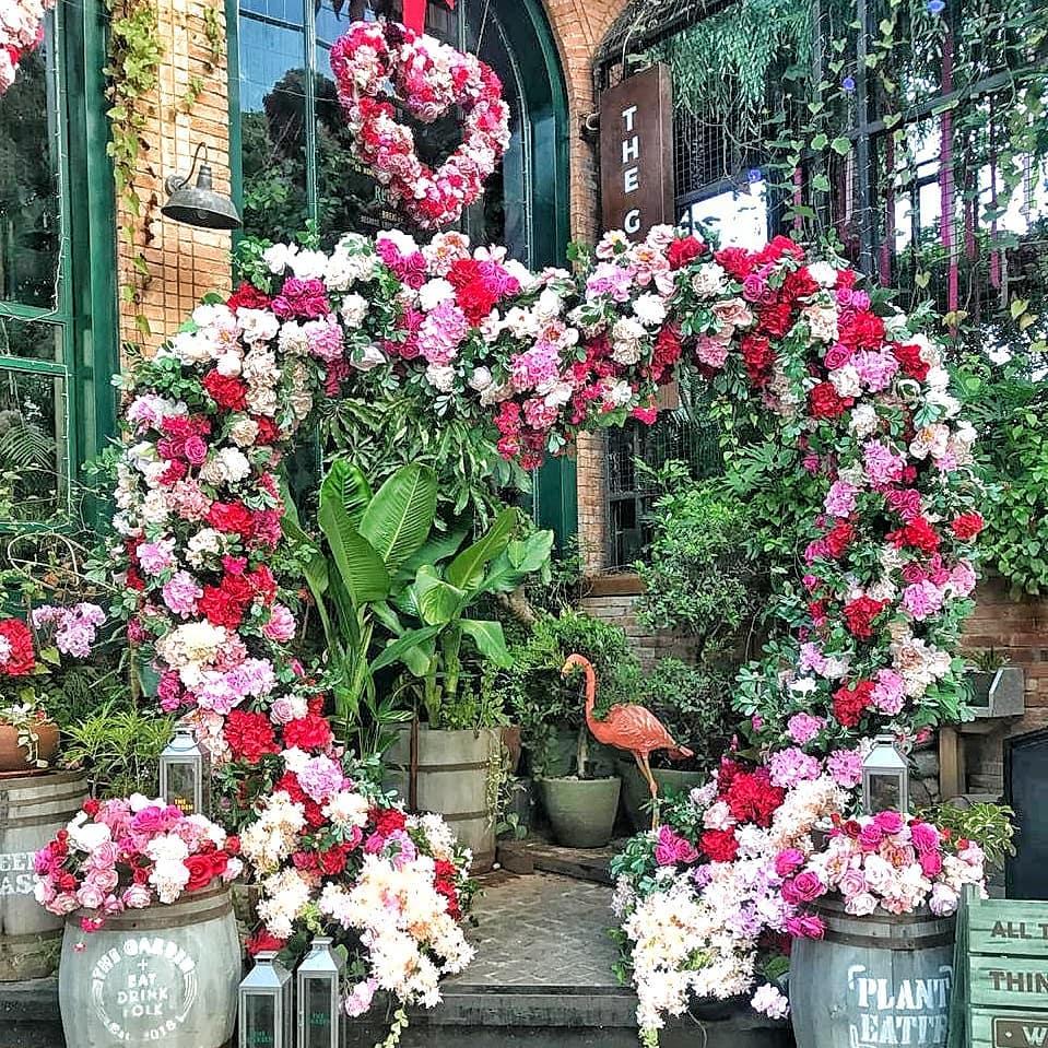 cafe unik kebun bunga, The Garden, Anak Kota