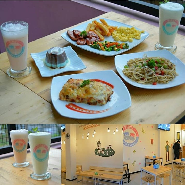 tempat nongkrong di Malang, First Milk N Yogurt, anakkota.com