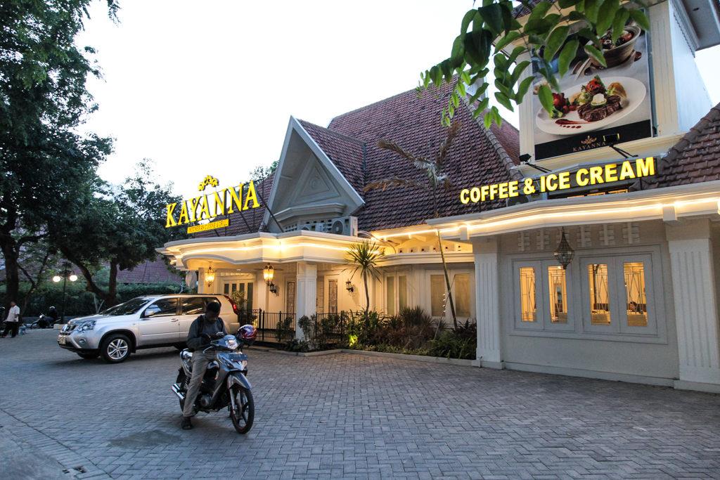 restoran unik di Surabaya, kayanna, Anakkota
